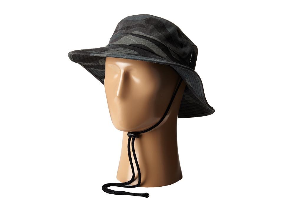Quiksilver Commotion Bucket Cap Black Bucket Caps