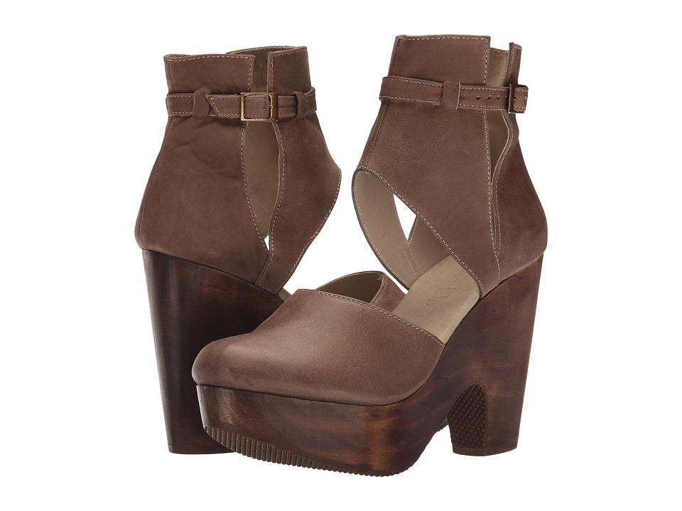 Cordani Carmen Taupe Nubuck High Heels