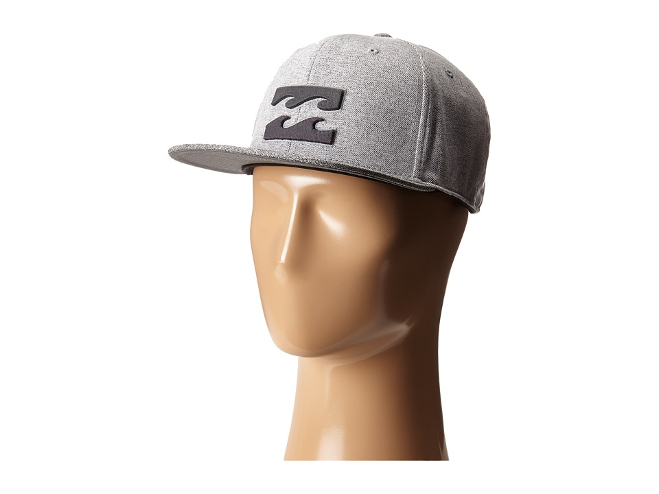 Billabong All Day 110 Snapback Hat Silver Caps