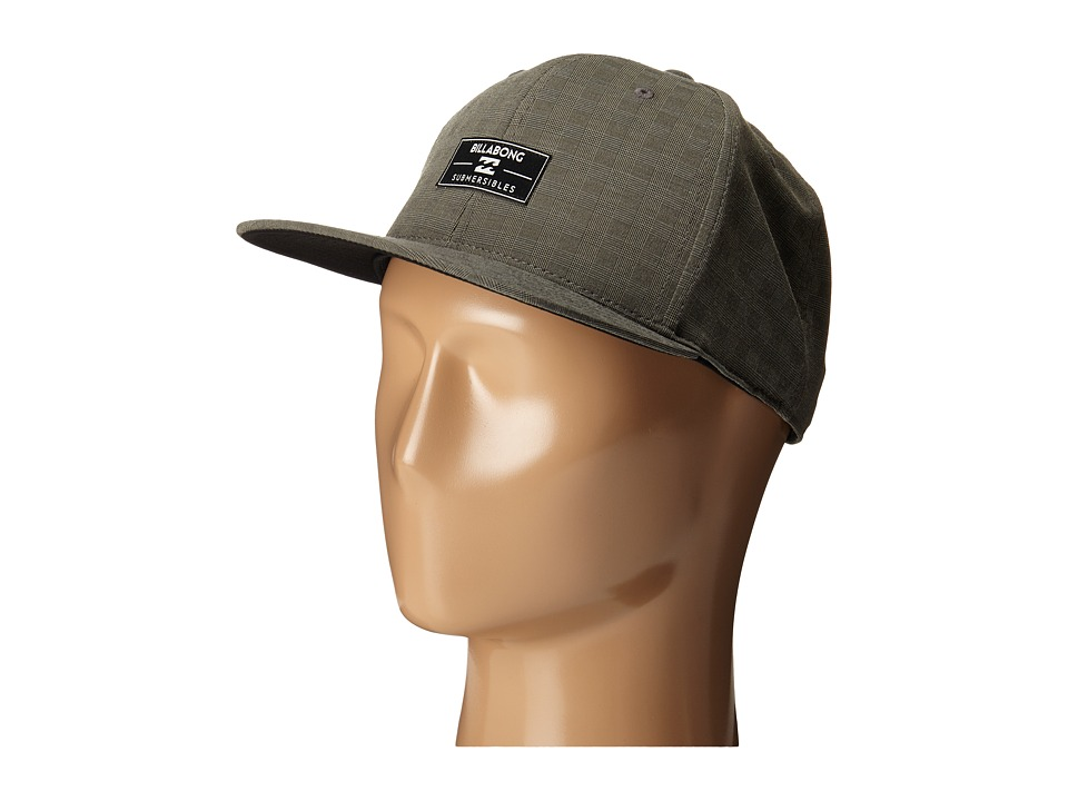 Billabong Submersible 110 Flexfit Hat Asphalt Baseball Caps