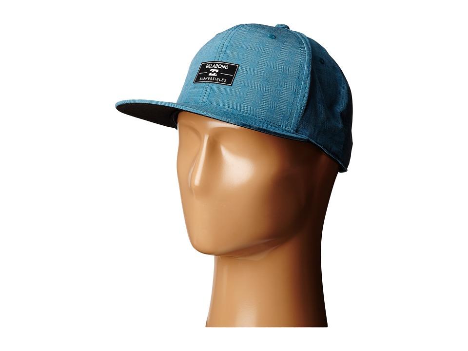 Billabong Submersible 110 Flexfit Hat Dark Royal Baseball Caps