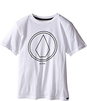 Volcom Kids - Pin Line Stone Short Sleeve Shirt (Big Kids)