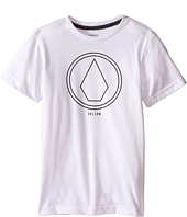 Volcom Kids - Pin Line Stone Short Sleeve Shirt (Toddler/Little Kids)