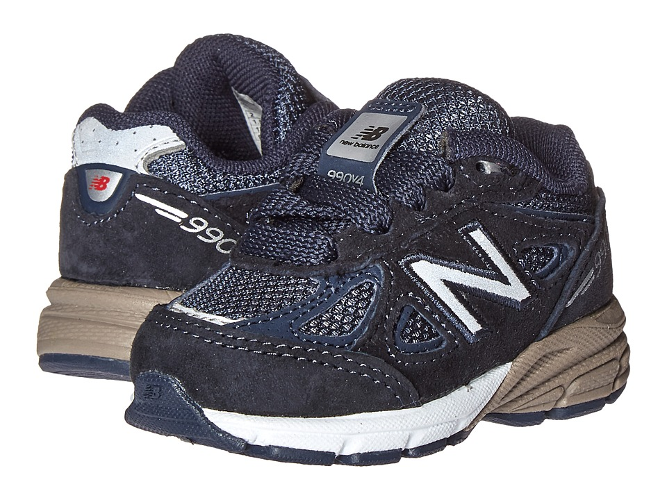 New Balance Kids KJ990v4 (Infant/Toddler) (Navy/Navy) Boys Shoes