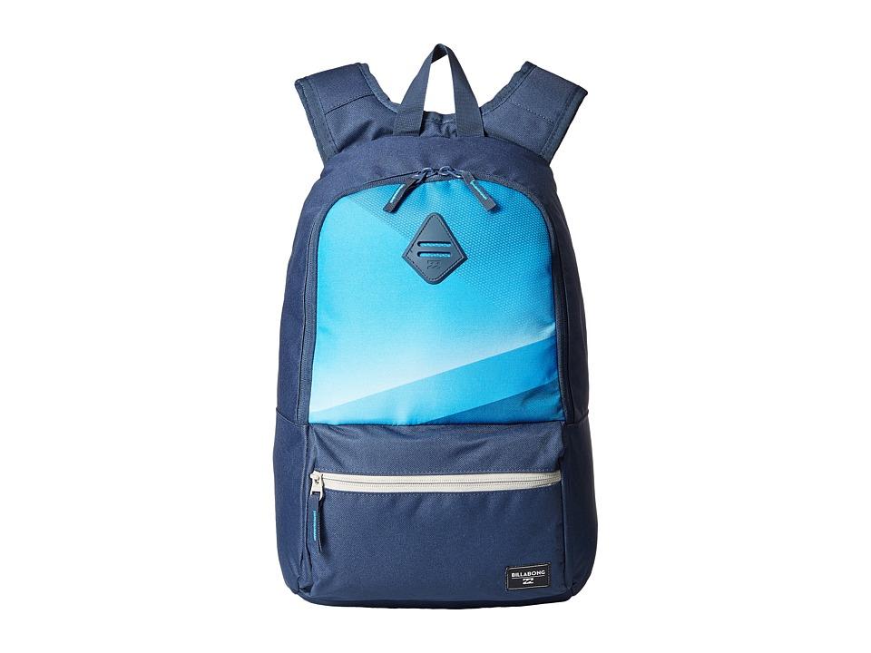 Billabong - Atom Backpack (Indigo) Backpack Bags