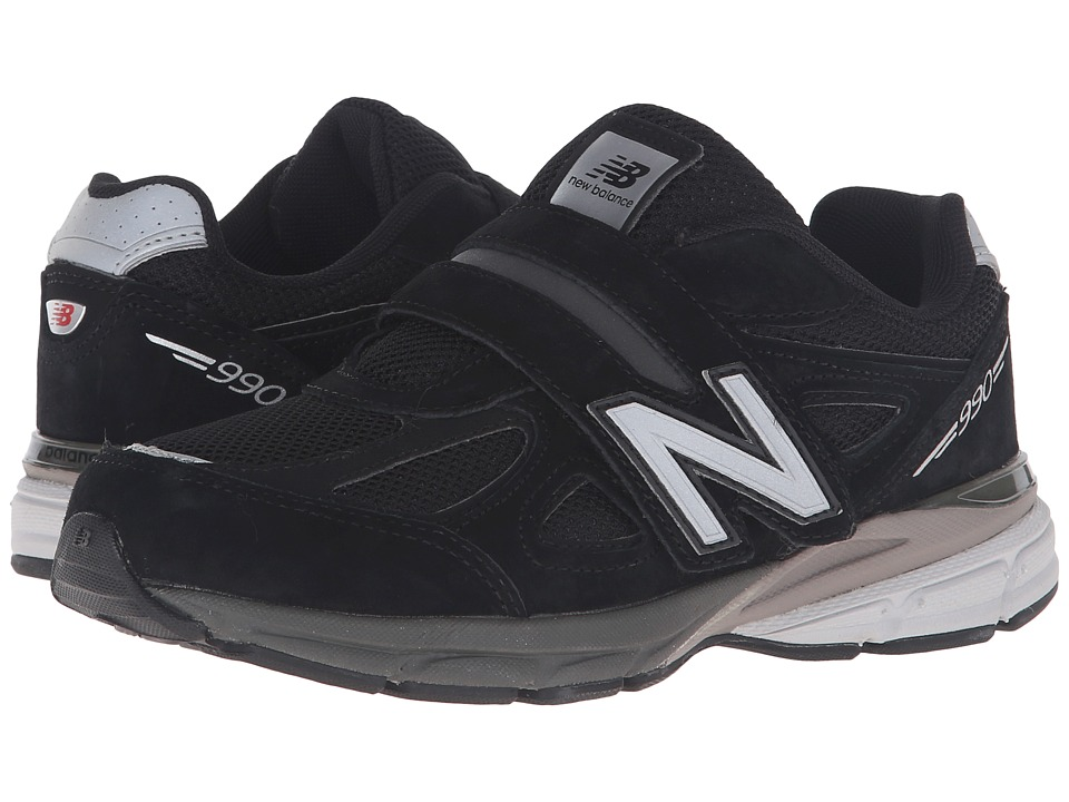 New Balance Kids KV990v4 (Little Kid) (Black/Black 2) Boys Shoes