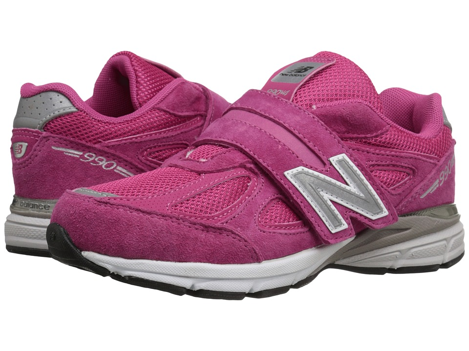 New Balance Kids KV990v4 (Little Kid) (Pink/Pink 2) Girls Shoes