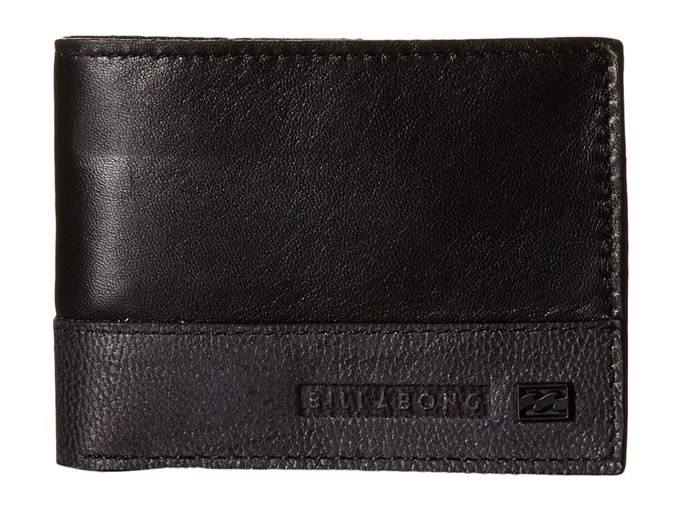 Billabong - Exchange Slim Wallet (Black) Bi-fold Wallet