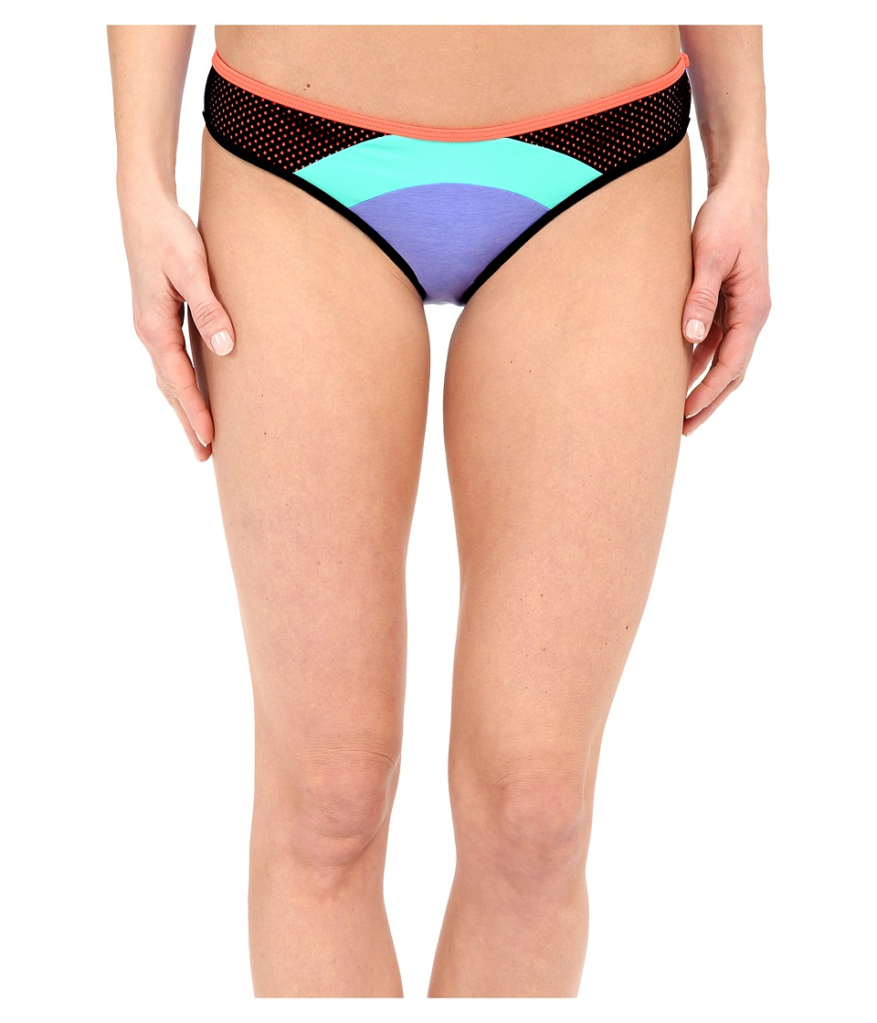 Body Glove Borderline Surf Rider Bottoms Iris Blue Womens Swimwear
