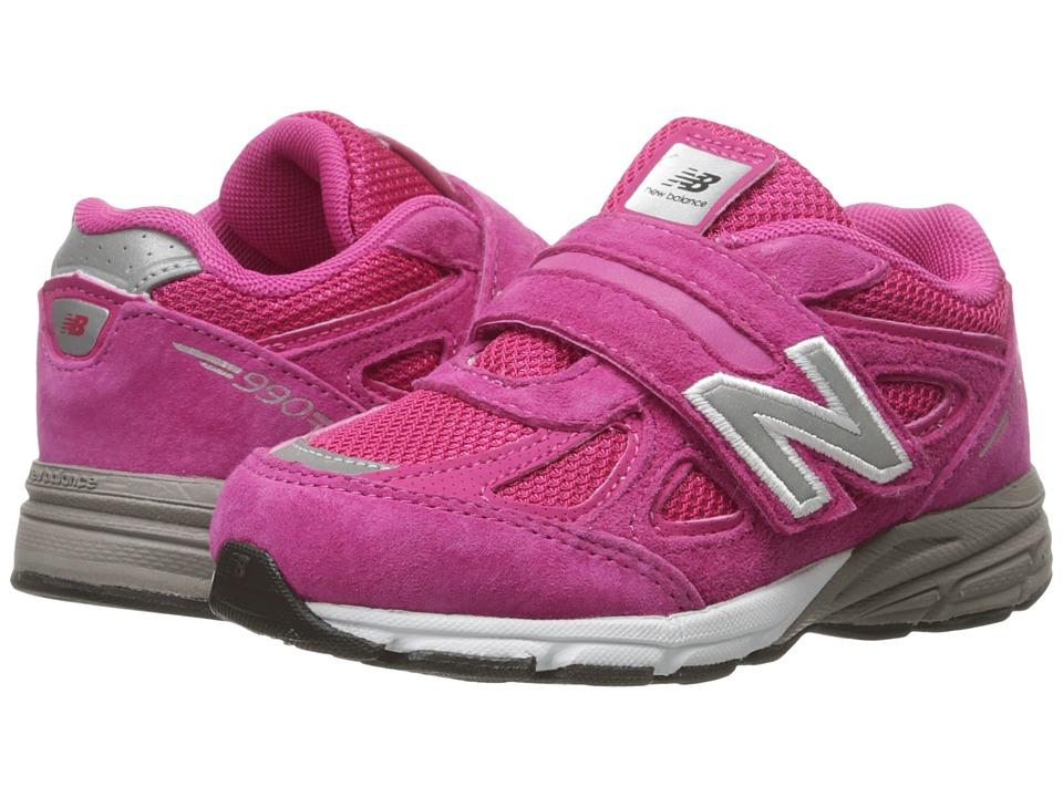 New Balance Kids KV990v4 (Infant/Toddler) (Pink/Pink 2) Girls Shoes