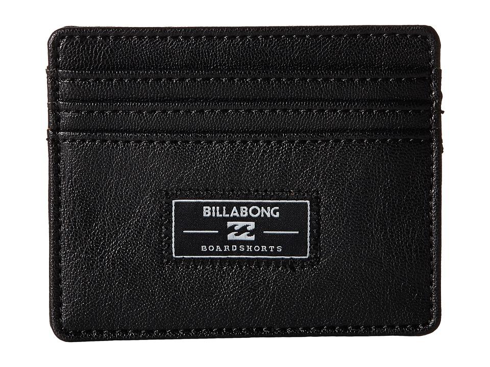 Billabong - Tribong Money Clip (Black) Wallet