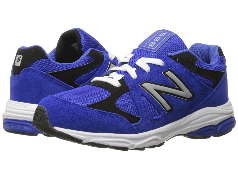 New Balance Kids 888 Big Kid Blue/Black Boys Shoes