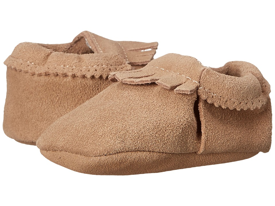 Hanna Andersson Baby Moc Infant/Toddler Natural Kids Shoes