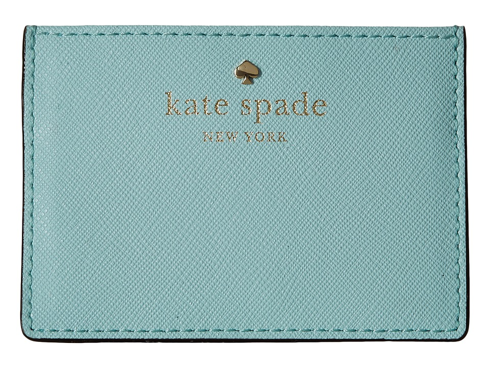 Kate Spade New York Cedar Street Card Holder Grace Blue Credit card Wallet