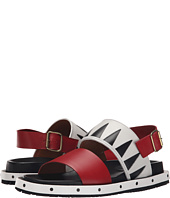 MARNI - Geometric Calf Leather Sandal