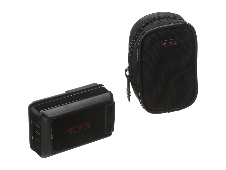Tumi - 4 Port USB Travel Adaptor (Black) Wallet
