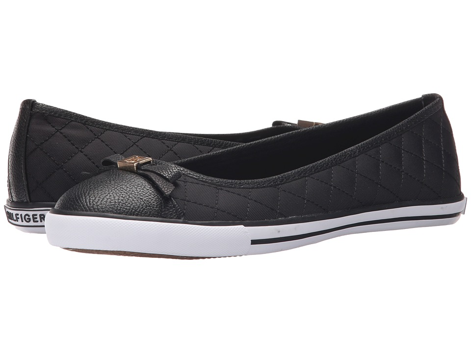 Tommy Hilfiger Beth Black/Black Womens Shoes