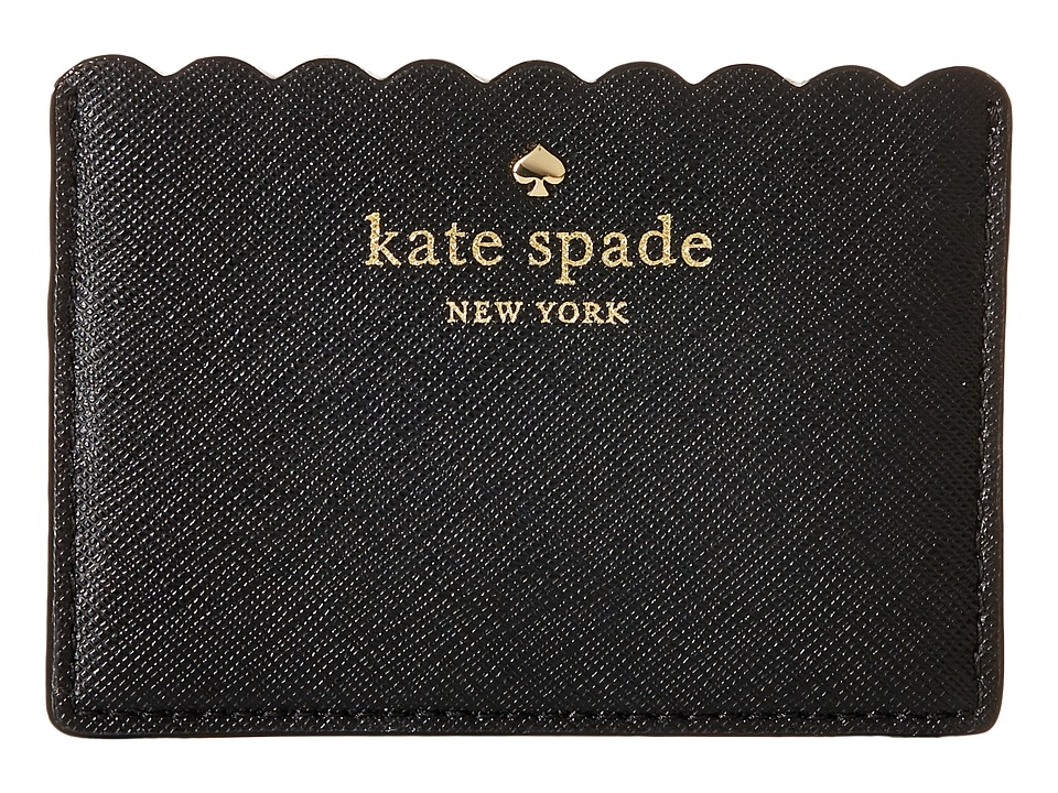 Kate Spade New York Cape Drive Card Holder Black/Bright White Wallet