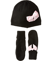 Kate Spade New York Kids - Bow Hat & Mitten Set