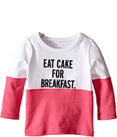 Kate Spade New York Kids - Eat Cake For Breakfast Tee (Infant)