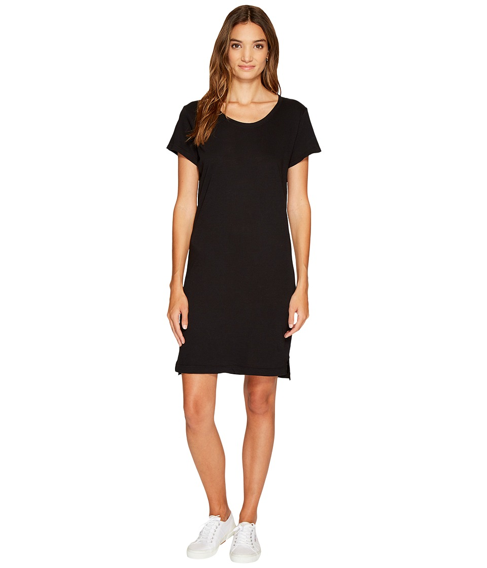 Alternative Cotton Jersey Legacy T Shirt Dress Black Womens Dress