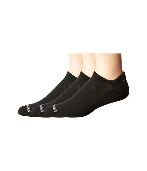 Drymax Sport Running Lite Mesh No Show Tab 3-Pack - Black