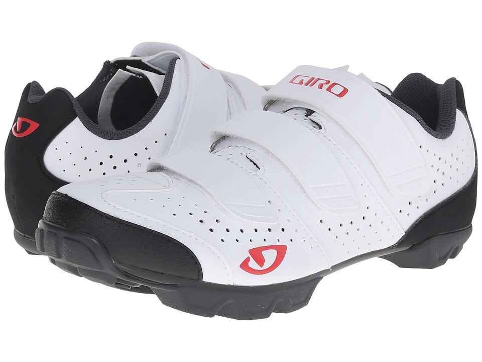 Giro Riela R White/Coral Womens Cycling Shoes