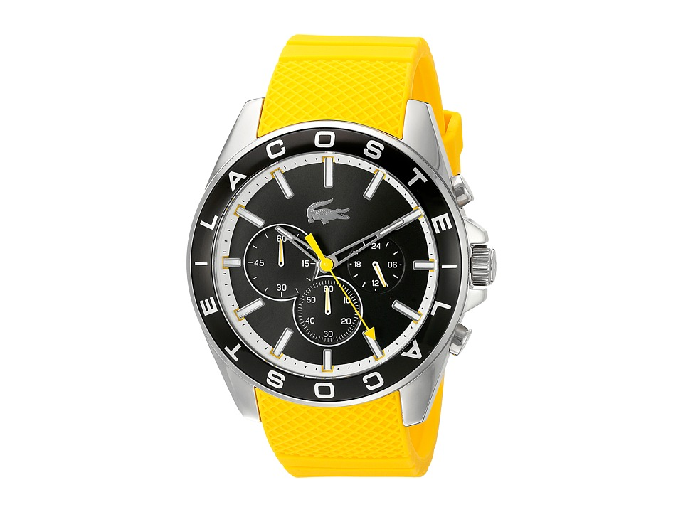Lacoste 2010852 WESTPORT Grey/Yellow Watches