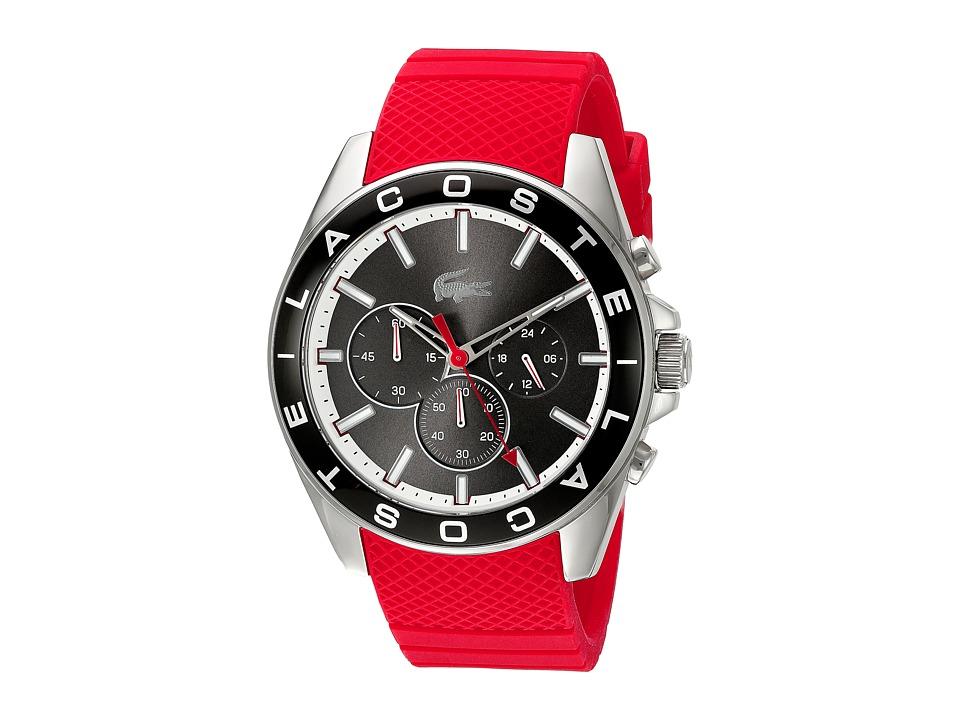Lacoste 2010853 WESTPORT Grey/Red Watches