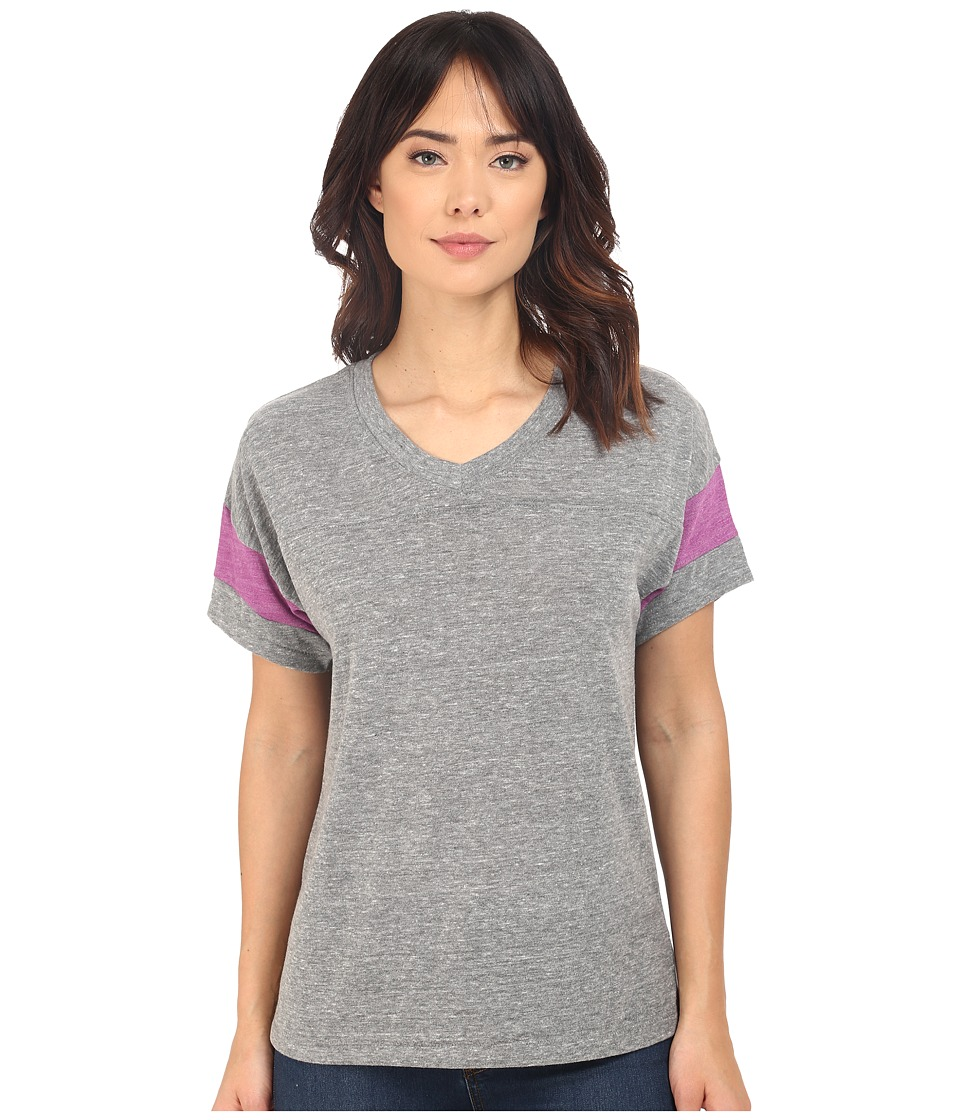 Alternative Powder Puff Tee Eco Grey/Eco True Huckleberry Womens T Shirt