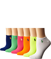 LAUREN Ralph Lauren - 6-Pack Ultra Low Cut Socks