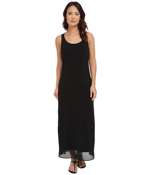 Tommy Bahama Knit Chiffon Scoop Neck Long Dress Cover-Up