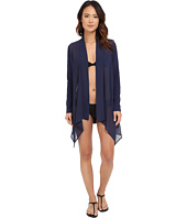 Tommy Bahama - Knit Chiffon Sheer Front Cardigan Cover-Up