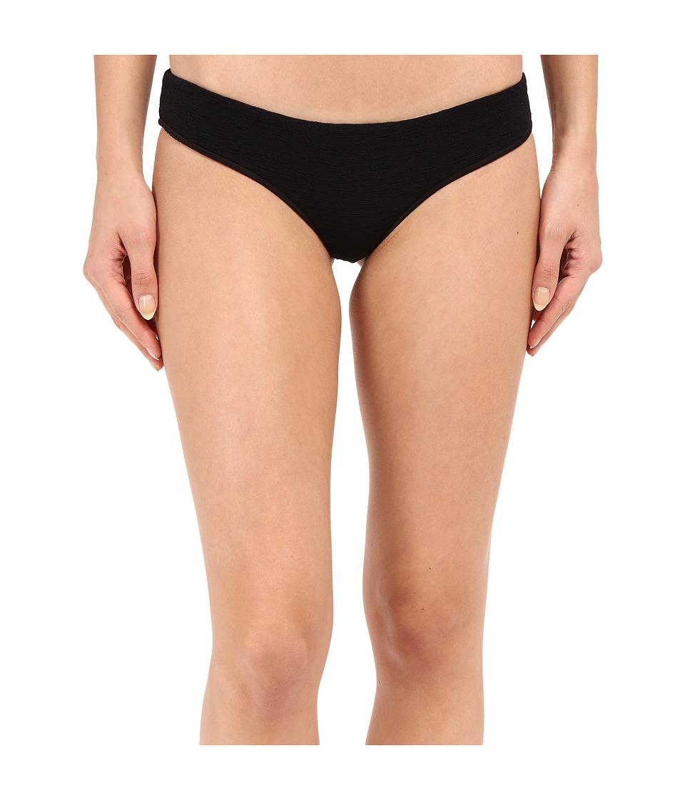 Beach Riot Stone Cold Fox Zoe Bottom Black Texture Womens Swimwear