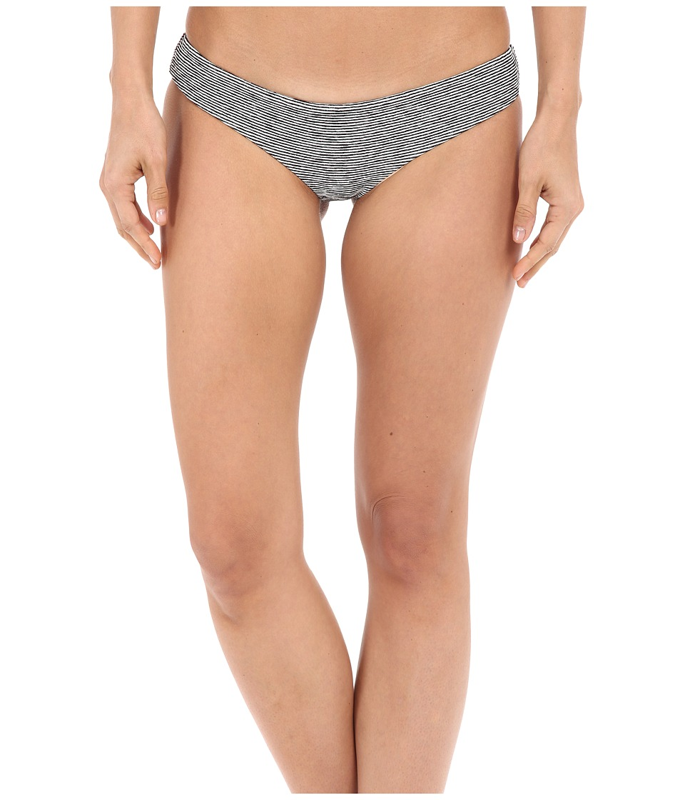 Beach Riot Stone Cold Fox Zoe Bottom Stripe Texture Womens Swimwear