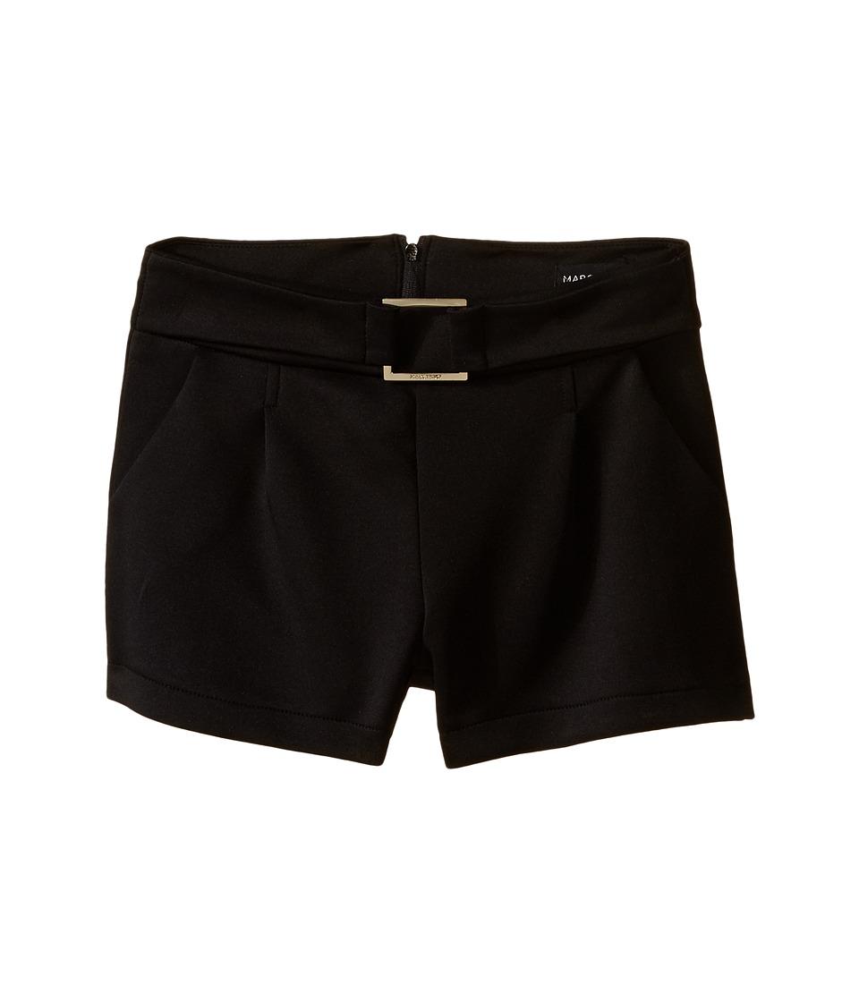 Marciano Kids Celestine Ponte Shorts Big Kids Black Girls Shorts