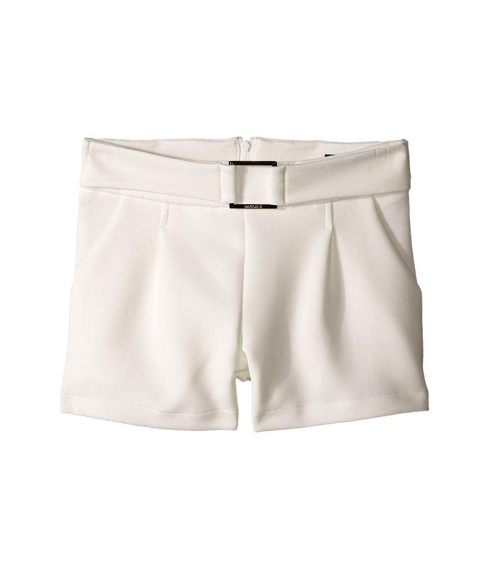 Marciano Kids Celestine Ponte Shorts Big Kids Off White Girls Shorts