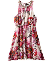 Marciano Kids - Lola Printed Dress w/ Braid Det (Big Kids)