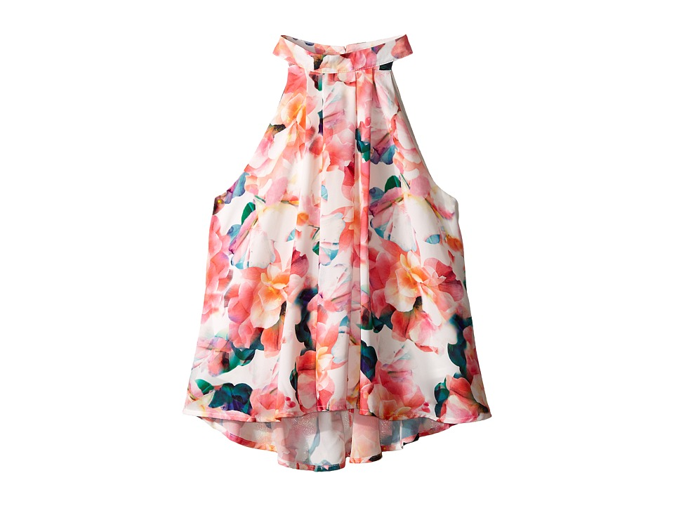 Marciano Kids Printed Crepe Top Big Kids Print Girls Dress