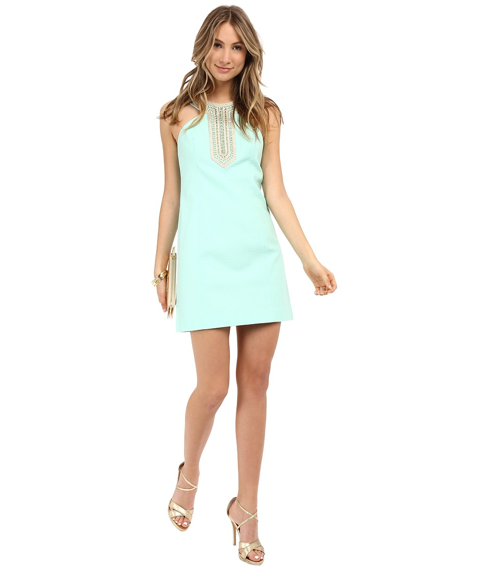 Lilly Pulitzer Adelina Shift Dress (Poolside Blue) Women