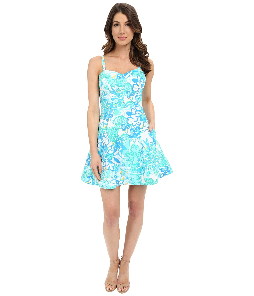 Lilly Pulitzer Willow Dress Resort White In A Pinch Womens Dress