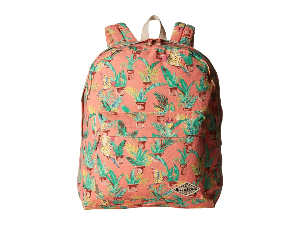 Billabong Moonbound Peace Backpack Melon Backpack Bags