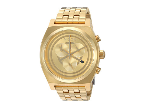 Nixon The Time Teller Chrono Watch X Star Wars Collab - C-3PO Gold