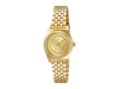 Nixon The Small Time Teller Watch X Star Wars Collab - C-3PO Gold