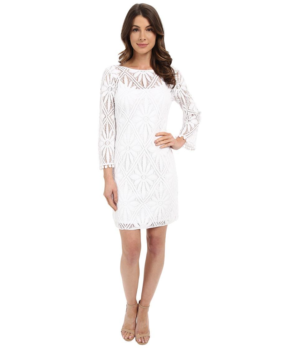 Lilly Pulitzer Topanga Dress Resort White Delray Diamond Womens Dress