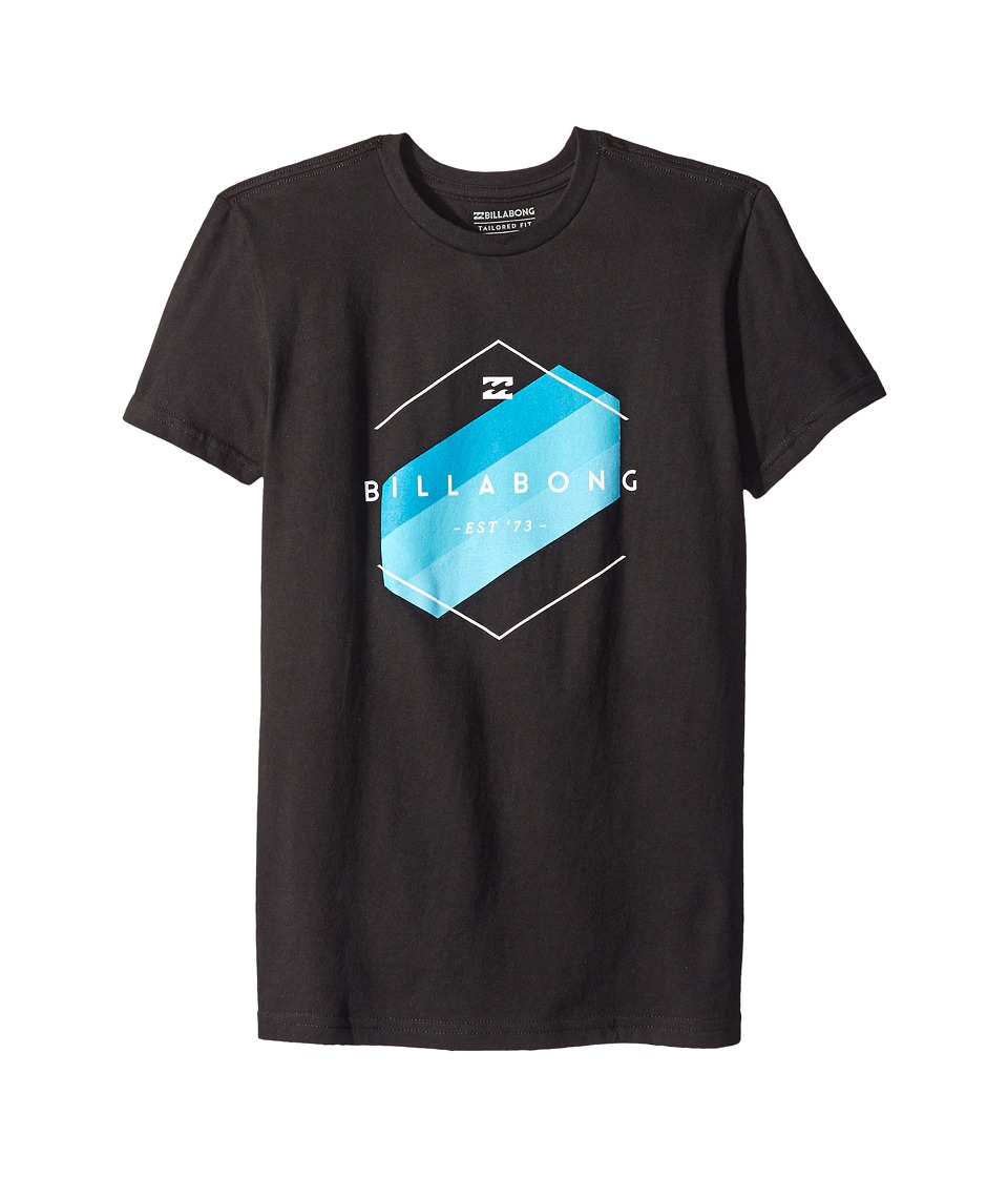 Billabong Kids - Obstacle T-Shirt (Big Kids) (Black) Boy