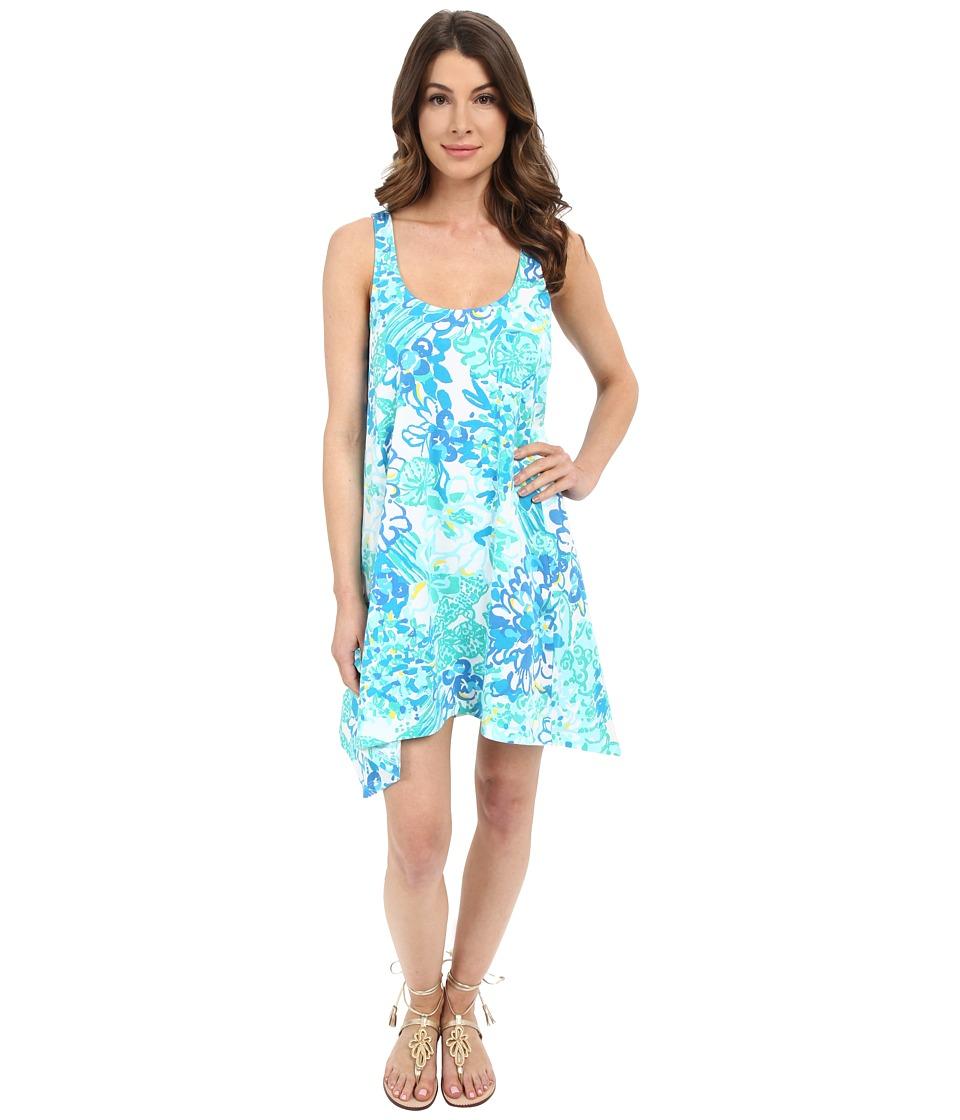 Lilly Pulitzer Monterey Dress Resort White In A Pinch Womens Dress