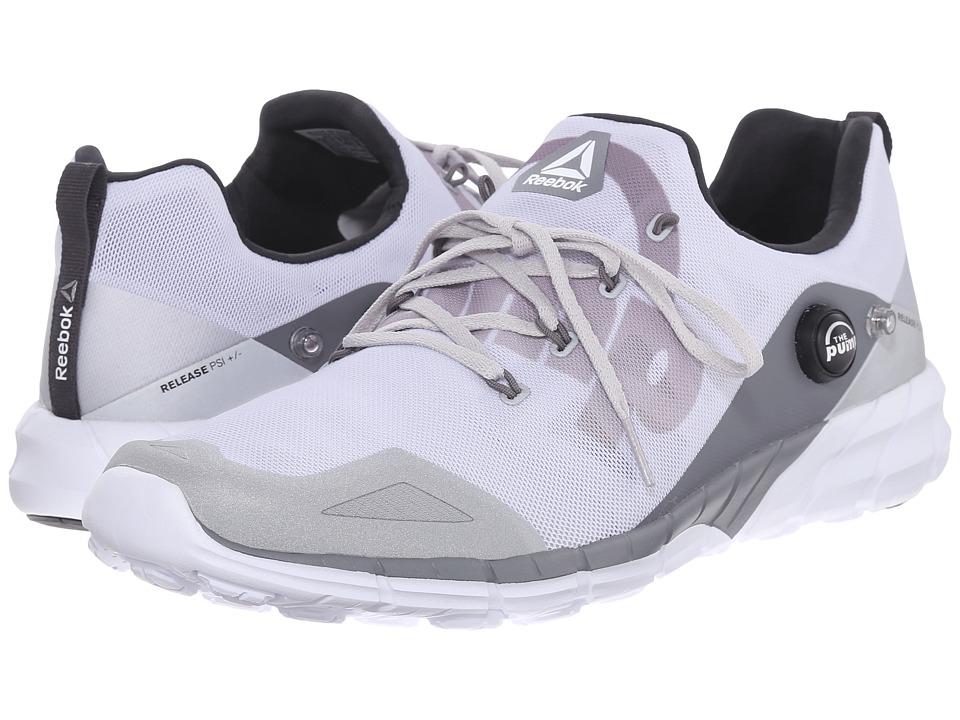Reebok - ZPump Fusion 2.0 ELE (Silver Metallic/Steel/Shark/Coal/White) Men