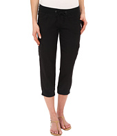UNIONBAY - Marianna Linen Rayon Crop Pants