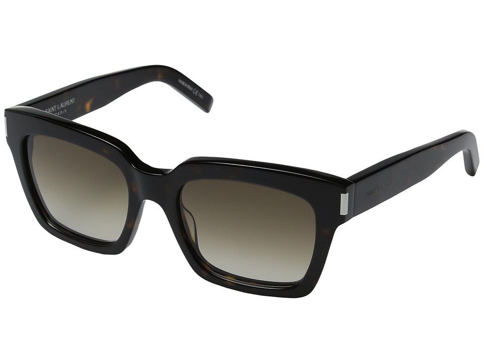 Saint Laurent Bold 1 Dark Havana/Brown Gradient Fashion Sunglasses